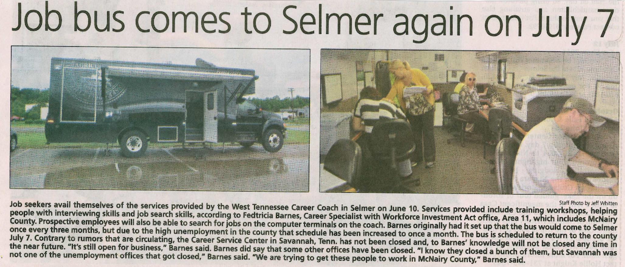 Selmer - June 10, 2014